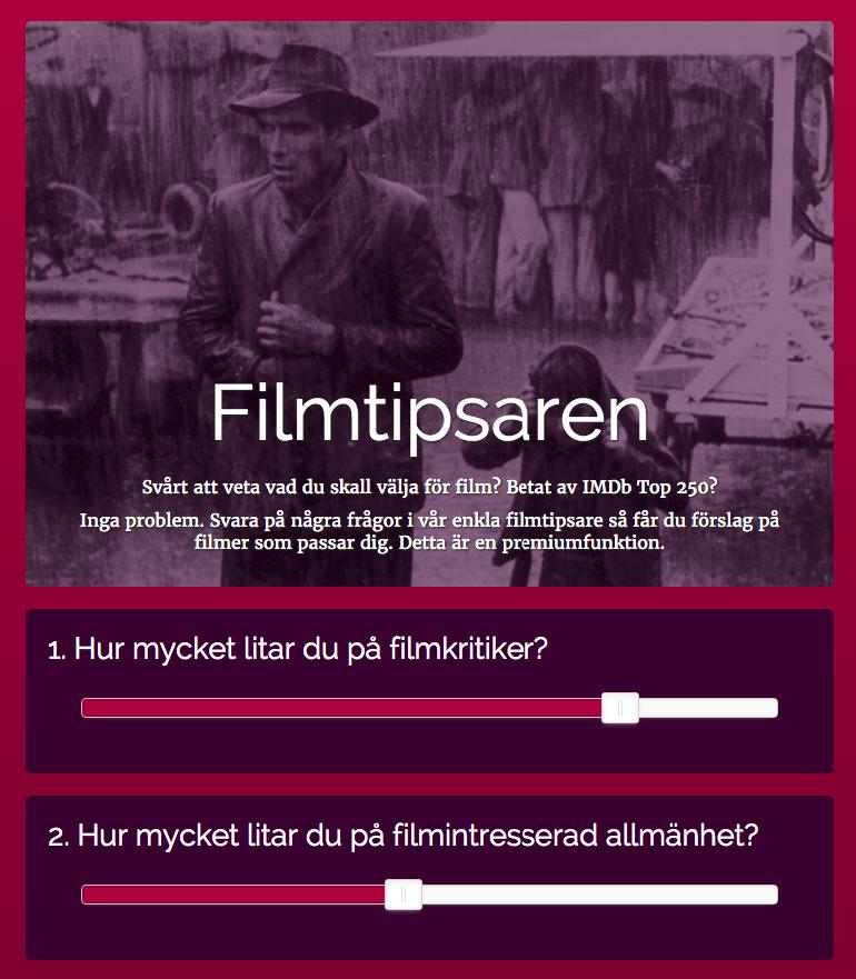 Filmtipsaren